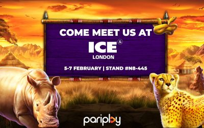 Pariplay to Unveil New Rumble Rhino Slot as Part of ICE London Attendance