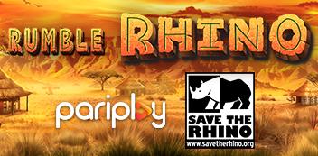 Save the Rhino with Pariplay