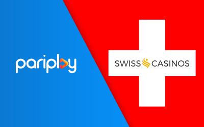 Pariplay Builds Momentum in Switzerland with Swiss Casinos Partnership