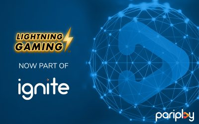 Pariplay Strikes Deal with Lightning Gaming™ to Enhance Content via Development Programme