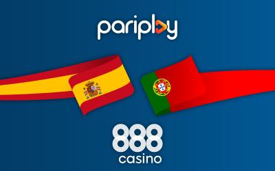 Pariplay extends partnership with 888casino