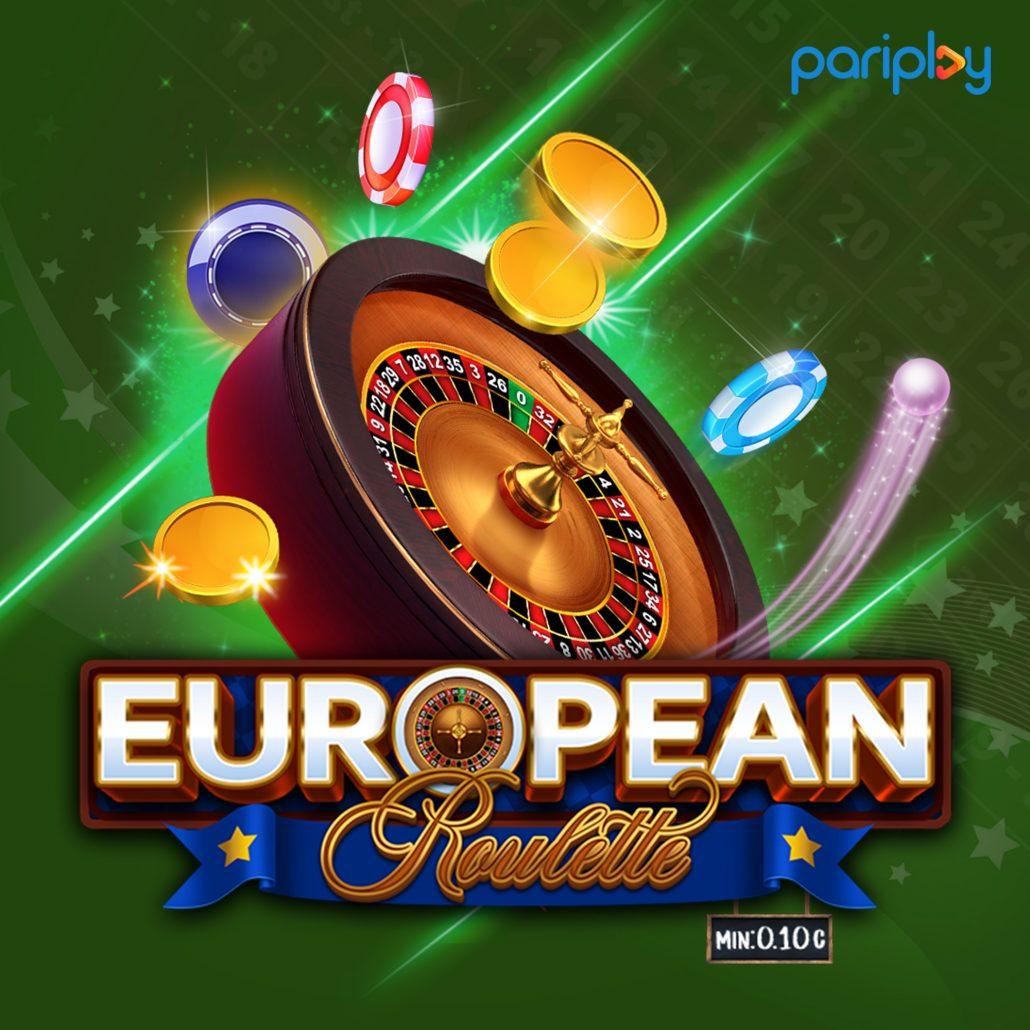 European Roulette Min: 0.10c