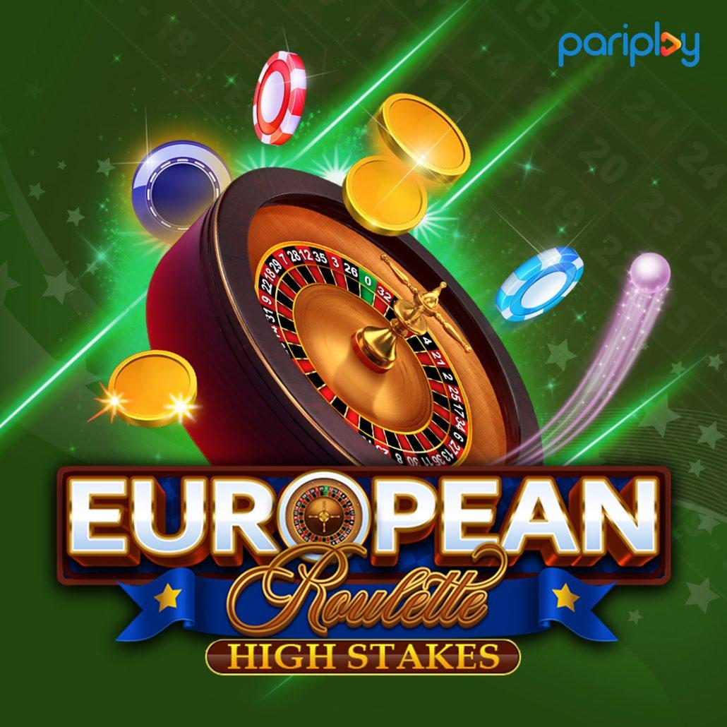 European Roulette High Stakes