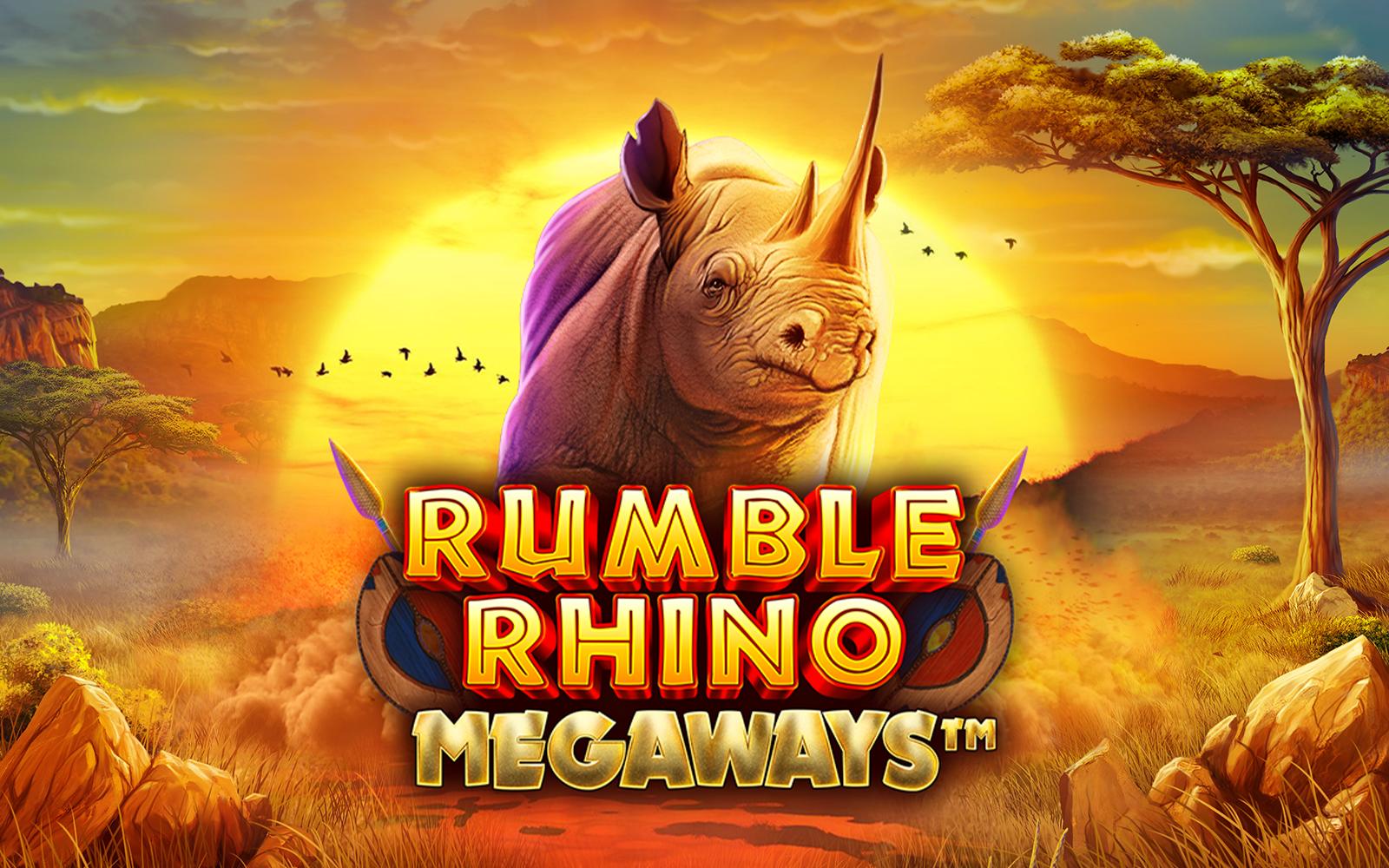 Rumble Rhino Megaways™