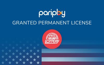 Pariplay granted full supplier license in West Virginia